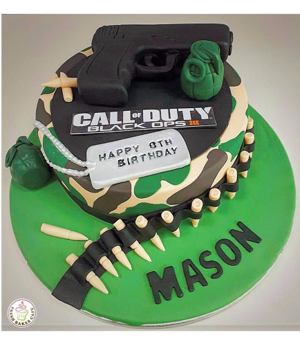 Call of Duty Themed Cake 03