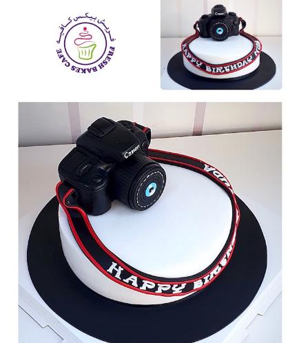 Camera Themed Cake