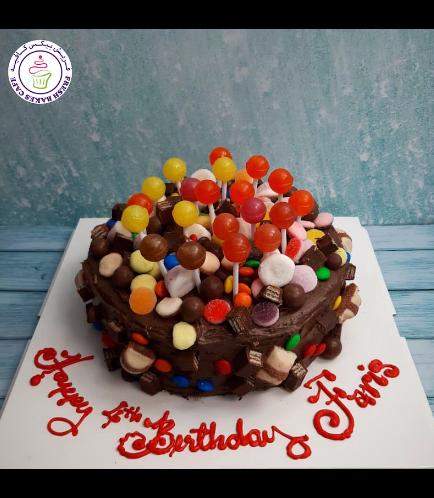 Candies & Chocolate Cake