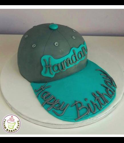 3D Cap Cake