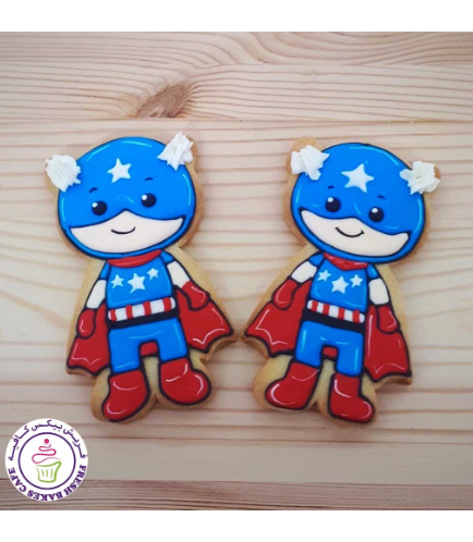 Captain America Themed Cookies 02