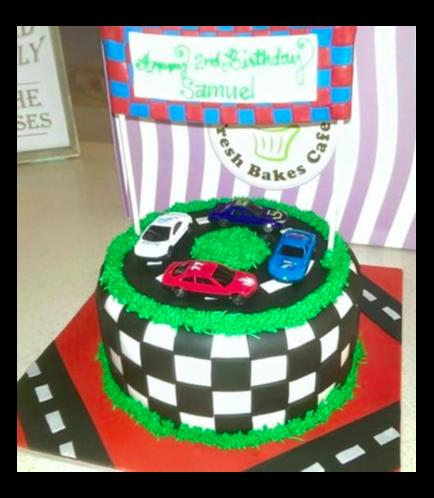 Car Themed Cake 03