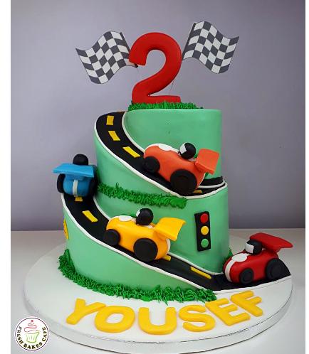 Car Themed Cake 08
