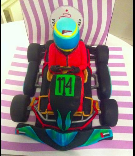 Car Themed Cake 04a