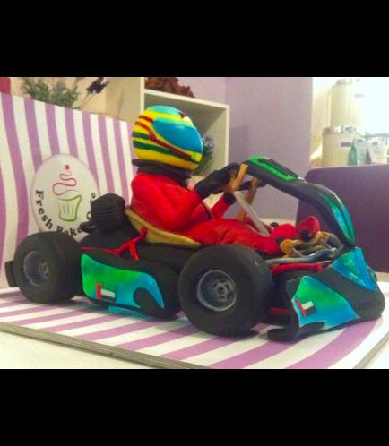 Car Themed Cake 03b