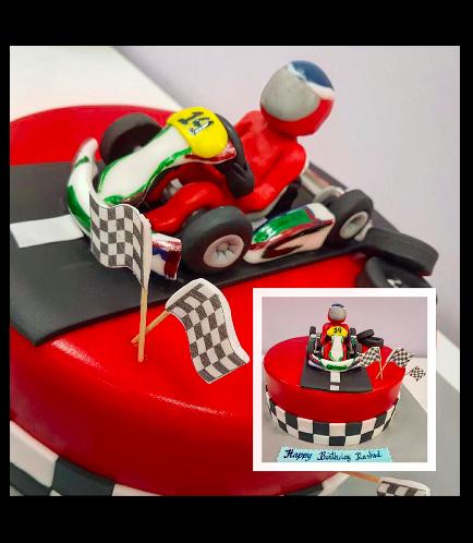 Car Themed Cake 06