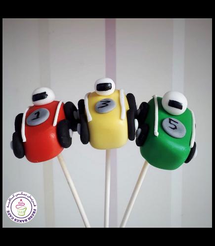 Car Themed Cake Pops 02