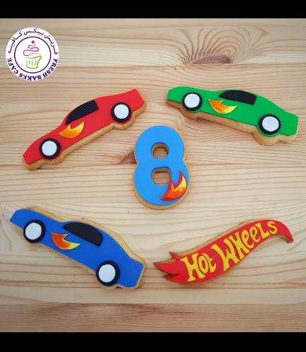 Car Themed Cookies - Hot Wheels