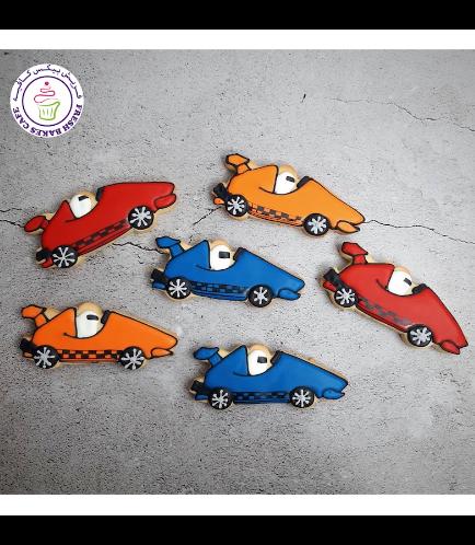 Car Themed Cookies - Race Cars