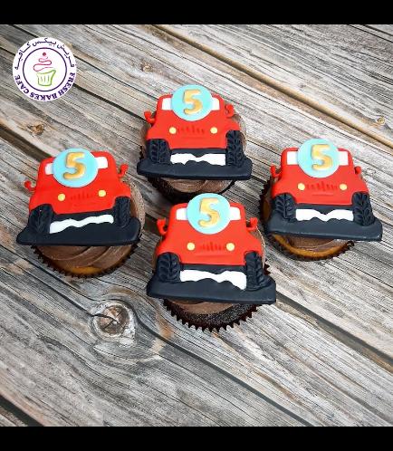 Car Themed Cupcakes - Jeep