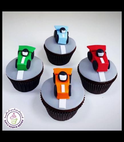 Car Themed Cupcakes 01