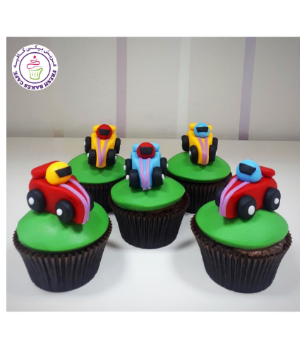 Car Themed Cupcakes 02