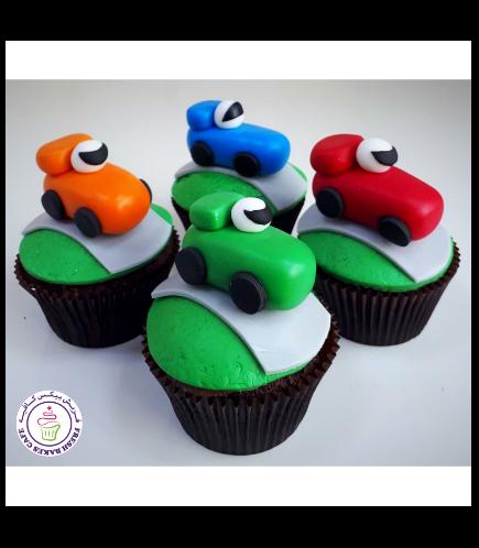 Car Themed Cupcakes 03