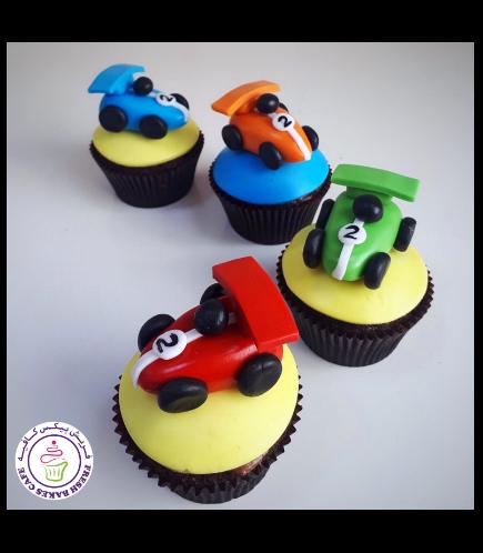 Car Themed Cupcakes 04