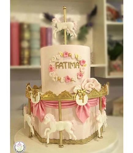 Carousel Themed Cake 01a