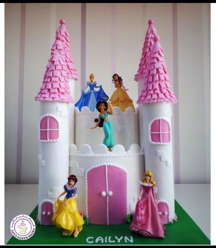 Cake - Princesses - Toys