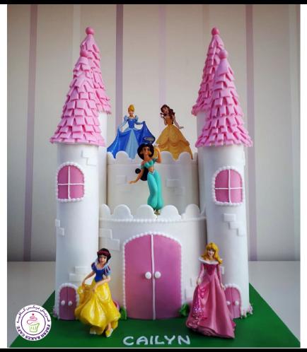 Princesses Themed Cake 07