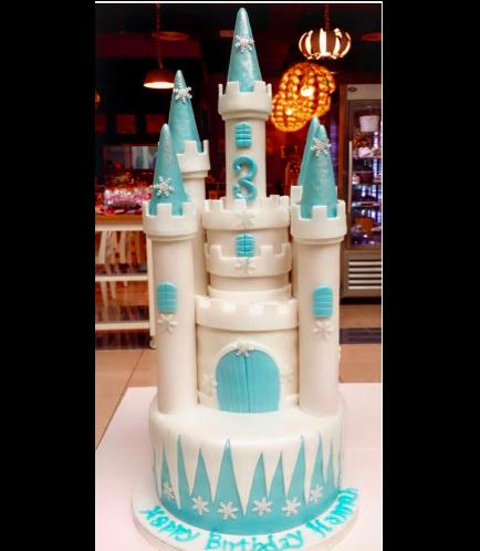 Cake - Disney Frozen - Elsa 01