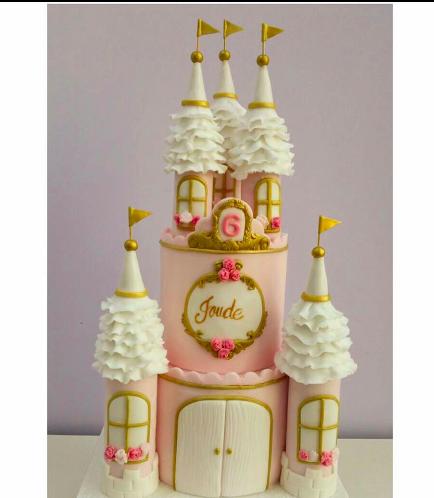 Cake - 2 Tier 02 - Pink