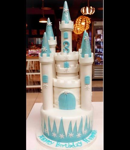 Cake - Castle - Elsa 01
