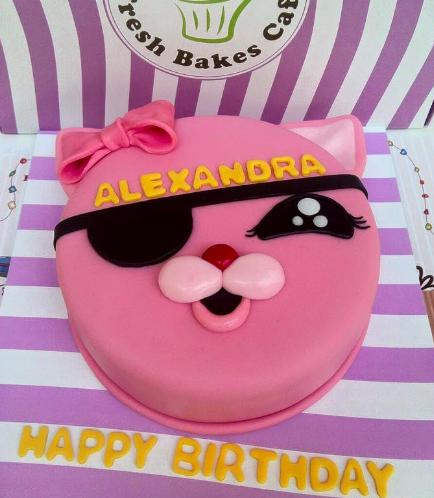 Cat Themed Cake 01