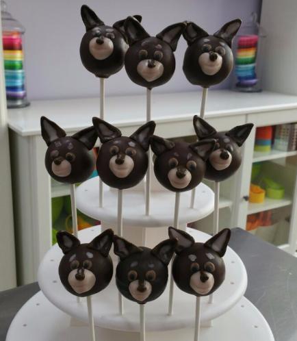 Dog Themed Cake Pops 2