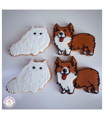 Cat & Dog Themed Cookies