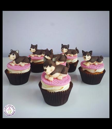 Dog Themed Cupcakes 2