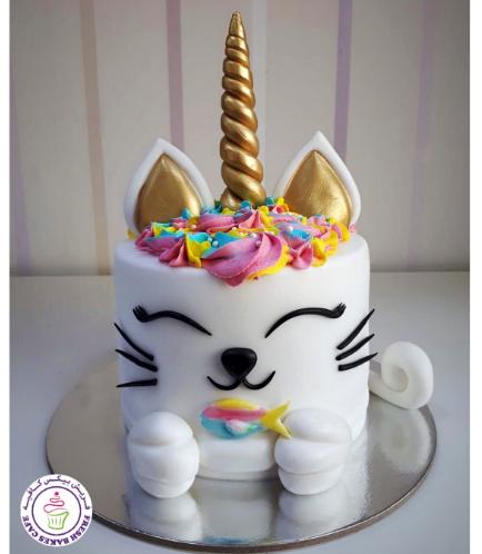 Cat Themed Cake - Unicorn 02
