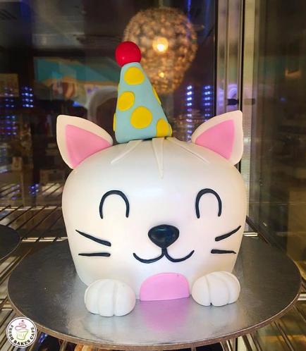 Cat Themed Cake 11c