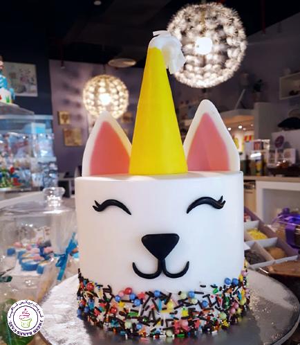 Cat Themed Cake 15