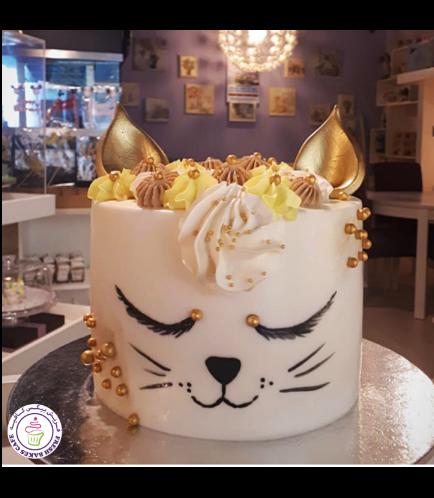 Cat Themed Cake 16
