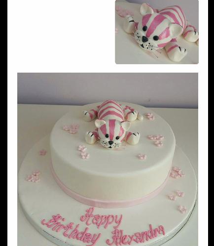 Cat Themed Cake 05