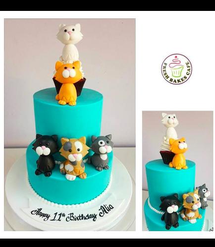 Cat Themed Cake 6