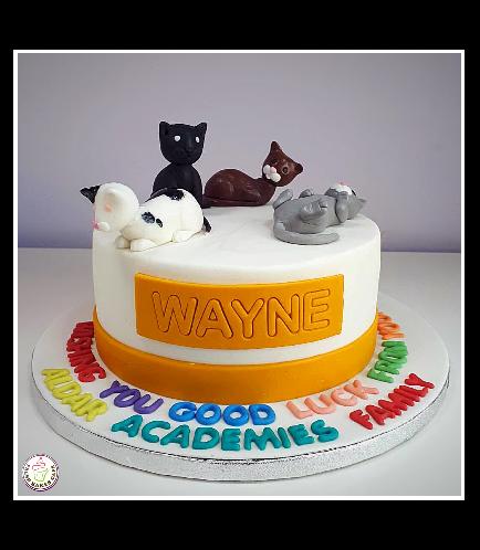 Cat Themed Cake 07b