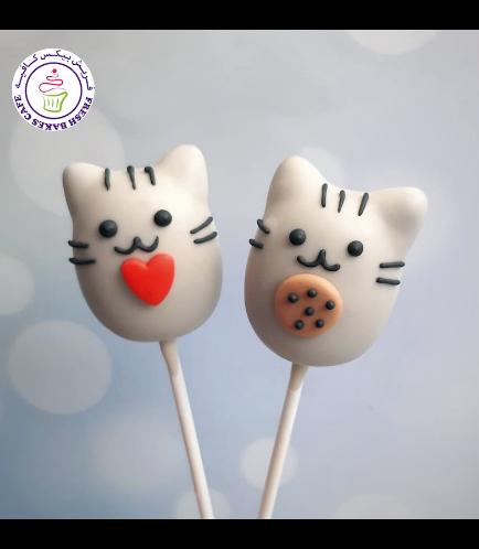 Cat Themed Cake Pops - Pusheen