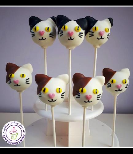 Cat Themed Cake Pops 03