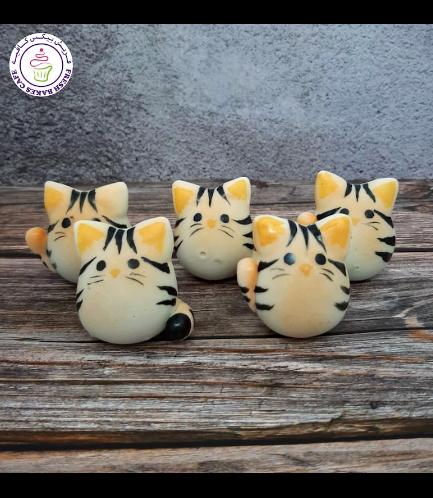Cat Themed Cake Pops w/o Sticks 02