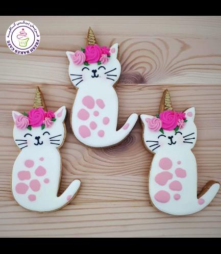 Cat Themed Cookies - Unicorn
