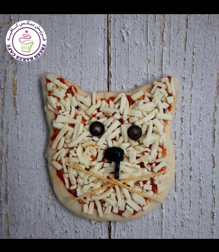Cat Themed Pizza