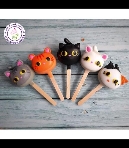 Cat Themed Popsicakes 03