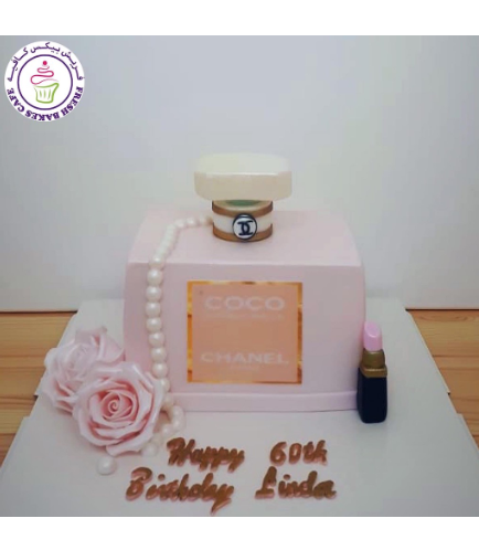 Perfume Themed Cake - Chanel 01a