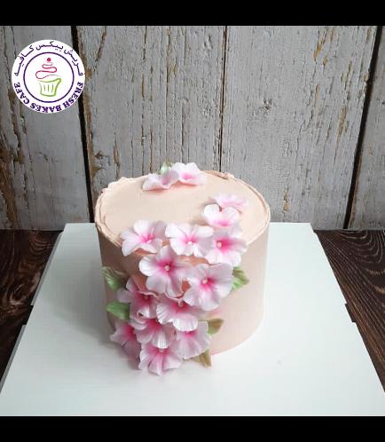 Cake - Cherry Blossom - Cream Cake 02