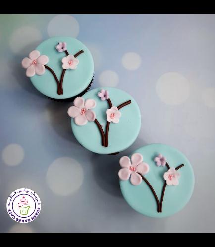 Cupcakes - Cherry Blossom 03
