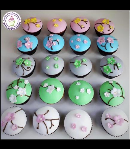 Cupcakes - Cherry Blossom 02