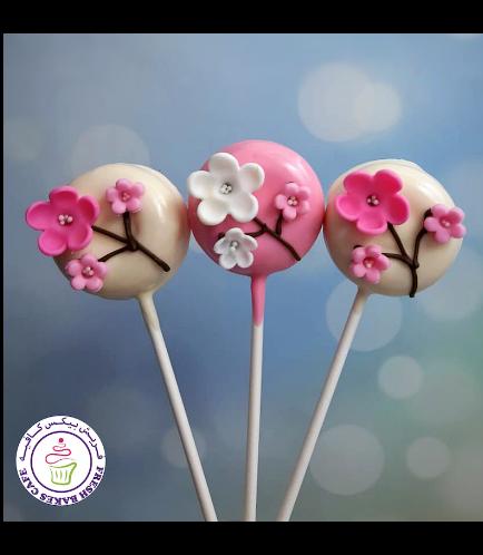 Cherry Blossom Themed Donut Pops