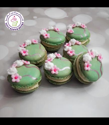 Cherry Blossom Themed Macarons 01