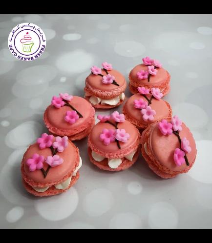 Cherry Blossom Themed Macarons 02