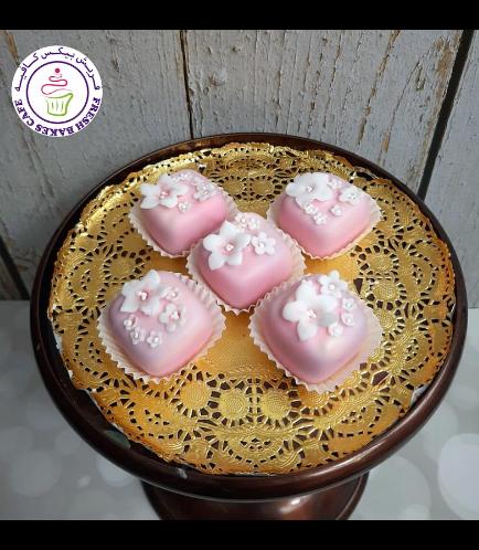 Cake Pops w/o Sticks - Cherry Blossom