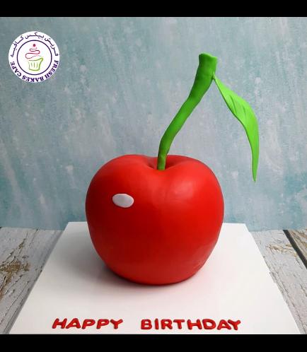 Cherry Themed Cake - 3D Cake
